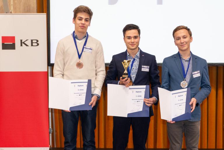 Bylo zveřejněno celkové pořadí finalistů III. ročníku Ekonomické olympiády