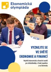 Brožura Ekonomické olympiády – finále!